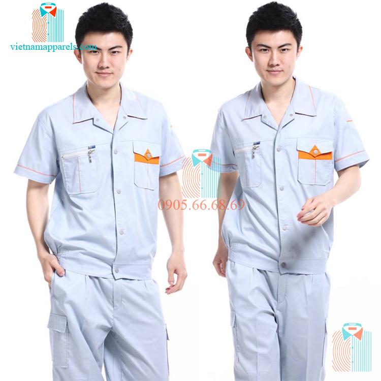 Đồng phục công nhân Yên Phong