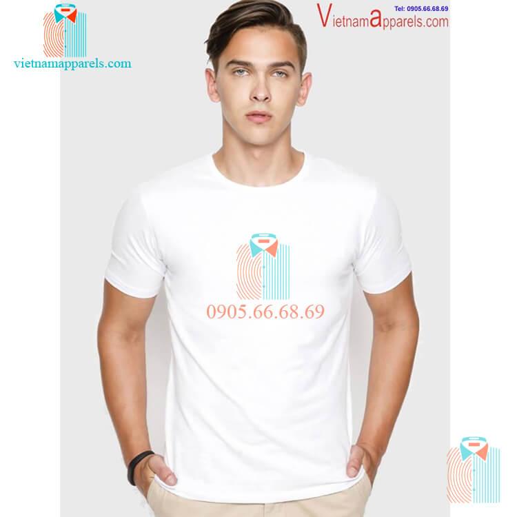Áo phông 100% cotton thoáng mát