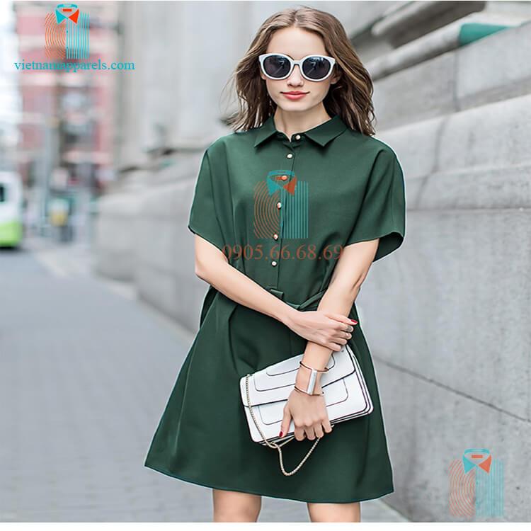 Váy suông công sở nữ thời trang