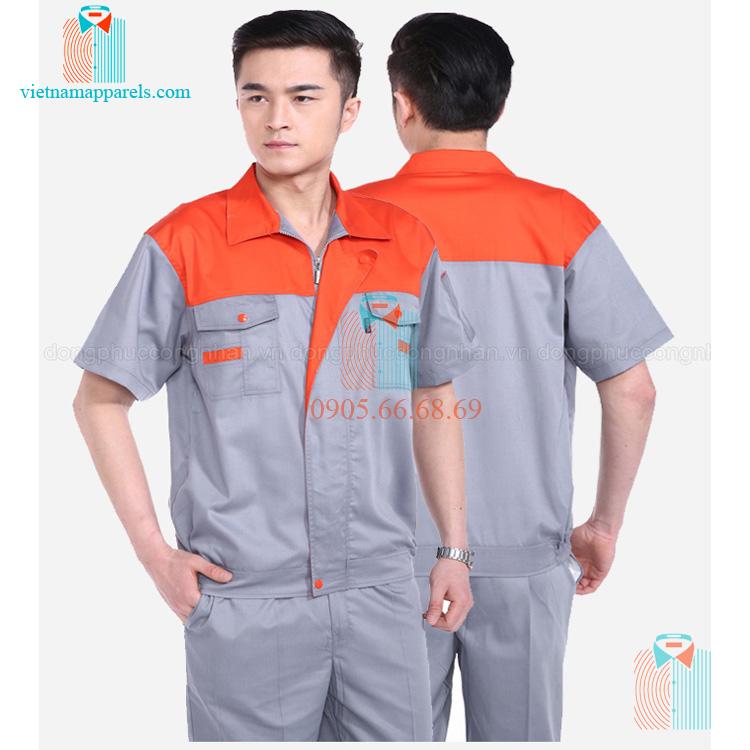 Đồng phục công nhân Hưng Yên